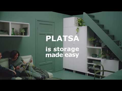 Platsa System Storage For Unused And Unusual Spaces Youtube
