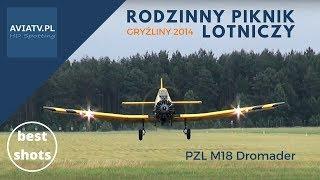 PZL M18 Dromader - bomba wodna -Rodzinny Piknik Lotniczy w Gryźlinach 2014