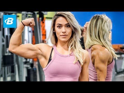 The Beauty that Trains Like a Beast | Cassandra Martin Arm Workout