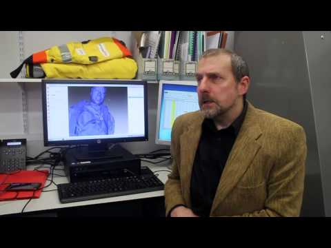 North Sea offshore workers 3D body scanning research project