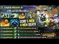 Miracle [Rubick] 5 man Echo Slam Epic Moment - Liquid Battle Cup Dota 2 gameplay