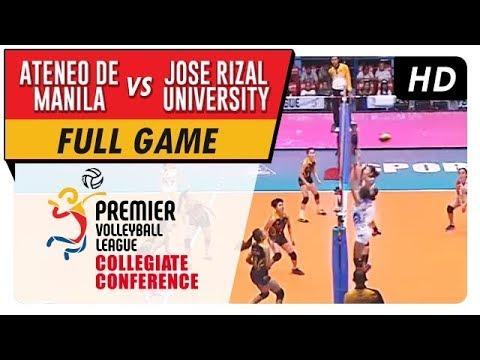 ADMU vs. JRU   PVL Season 2 Collegiate Conference   Full Game   3rd Set   September 3, 2017