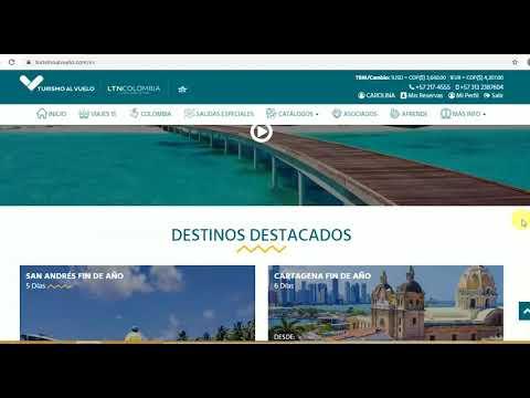 Capacitación página web Turismo al Vuelo