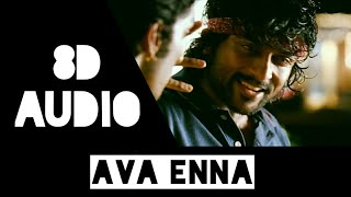 Ava Enna | Vaaranam Aayiram | 7th Sense Trendy Songs | 8D Audio | Use Head Phone
