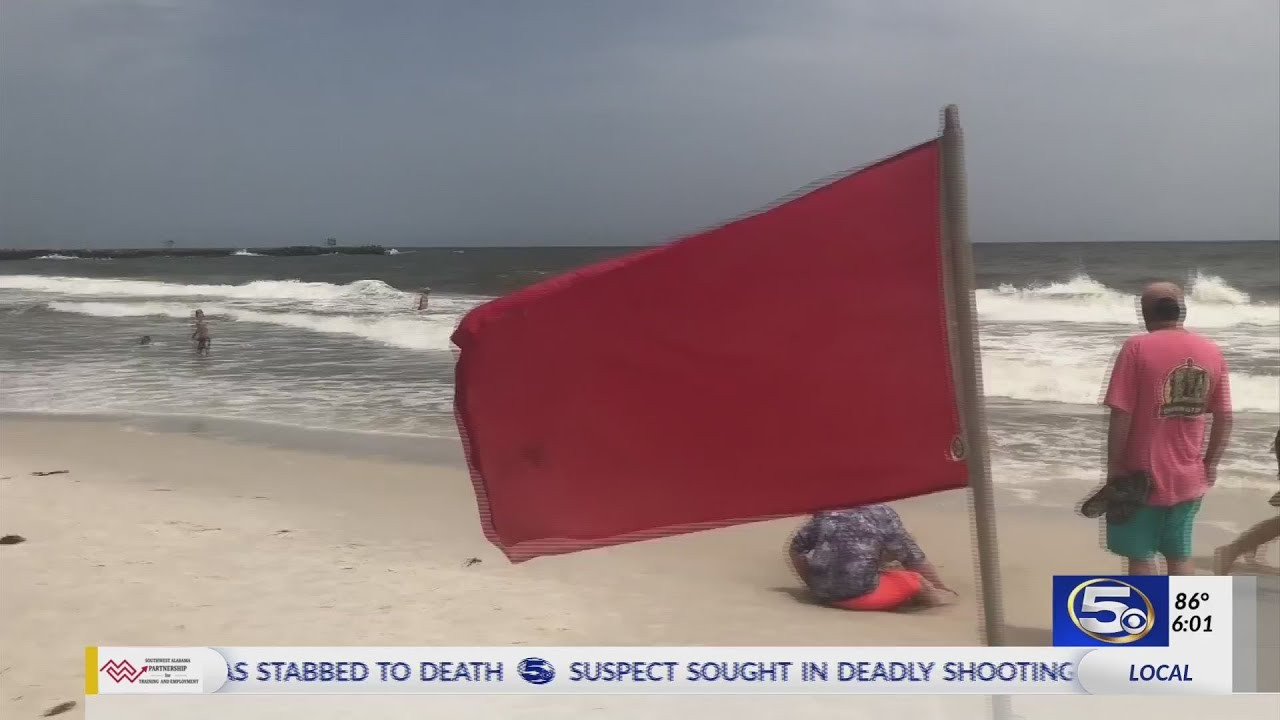 Dangerous Conditions on Gulf Shores Beaches