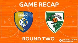 Highlights: Khimki Moscow region - Zalgiris Kaunas