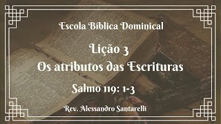 Os atributos das Escrituras