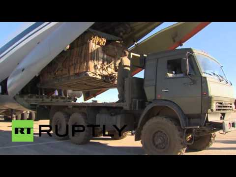 Syria: Russian army launches humanitarian airdrop operation