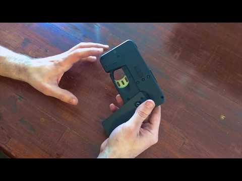 Cell Phone Pistol Review (IC380)