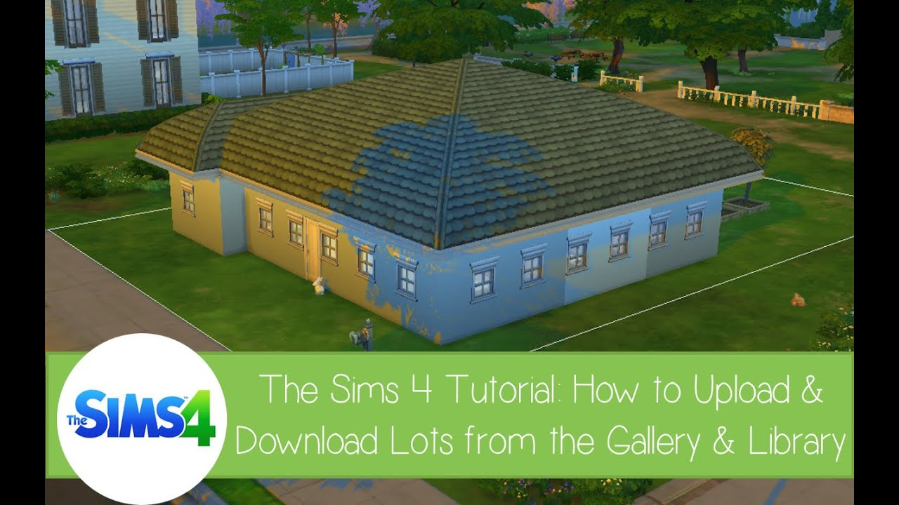sims 4 how to add lots