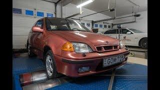 Totalcar Erőmérő: Suzuki régi-Swift 1,3 (1998)