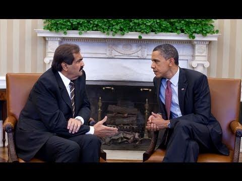 President Obama Meets with Amir Hamad Bin Khalifa Al-Thani