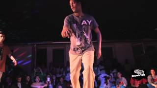 TFDA SHOWDOWN  2012 vol 3. Poppin Quarterfinal  1. Kid Dynamite vs Funky Mo