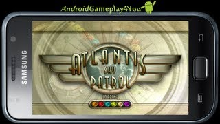 Atlantis Sky Patrol Android Game Gameplay (Zuma clone) [Game For Kids]