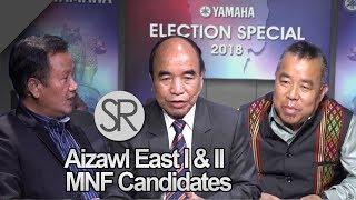 SR : Aizawl East I & II MNF Candidates Pu Rama & Pu Robert | YAMAHA Election Spl. [15.11.2018]