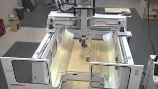 Thermwood Model 77 5 Axis CNC Machining