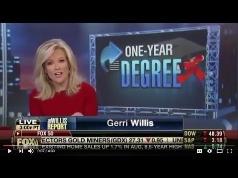 DIY Degree on Fox Business News