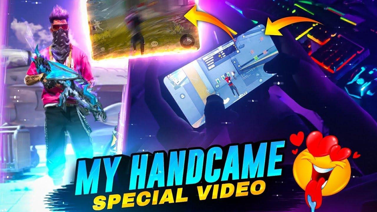 My First Handcam 4 finger Free Fire Gameplay 😂 // Boss Ayush Handcam Gameplay