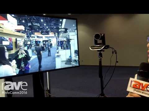 InfoComm 2016: Minrray Industry Co., LTD. Highlights UV100 Series Auto Tracking Camera