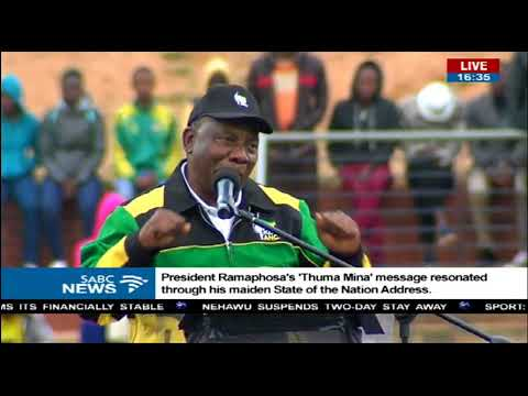 President launches ANC's volunteer campaign ahead of elections
