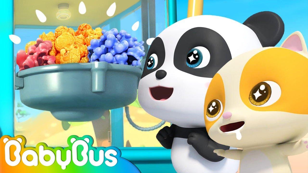 I Love Popcorn Song | Ice Cream | Colors Song | Nursery Rhymes | Kids Songs | BabyBus