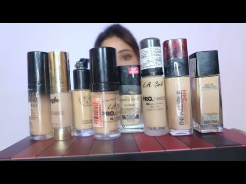 Best 10  Foundation || Loreal lakme , colorbar buy or not to Buy