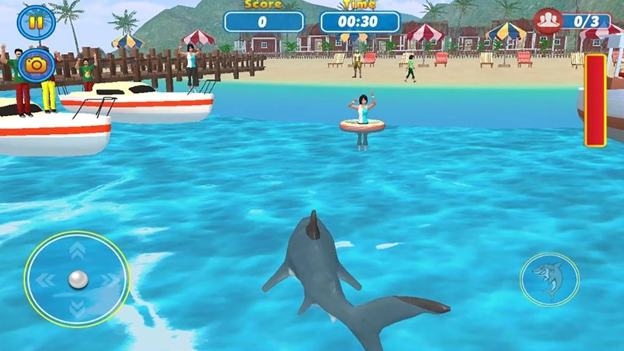Shark attack – Vodi Main