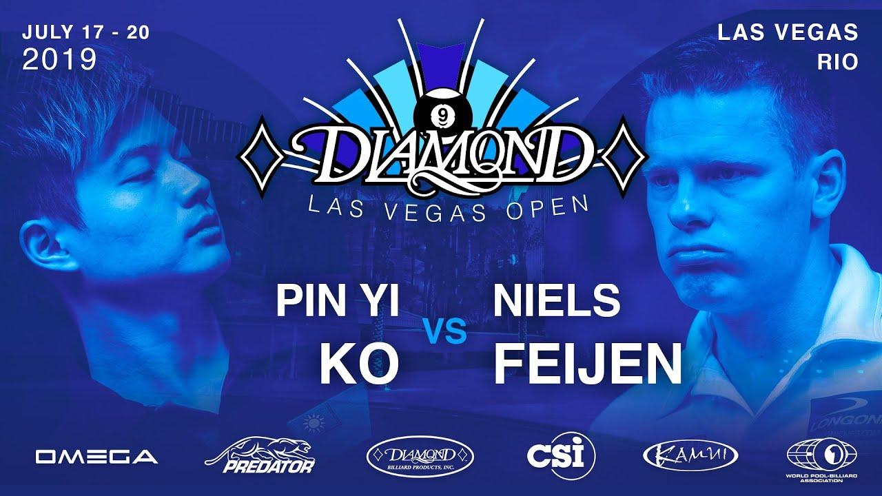 2019 Diamond Las Vegas Open: Niels Feijen vs Ko Pin-Yi