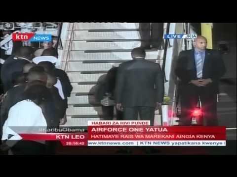 Download Youtube: US President Barack Obama lands in style