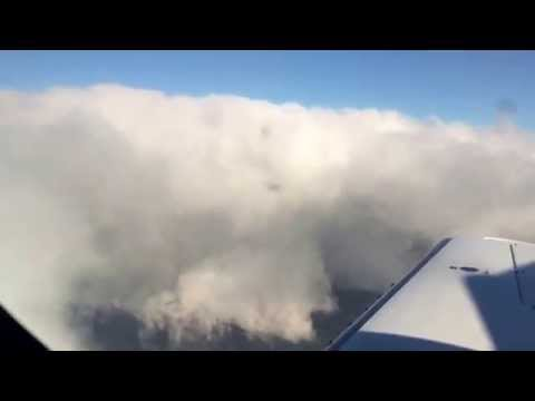 Private jet Experience take off from Venice landing in London Blackbushe airfield