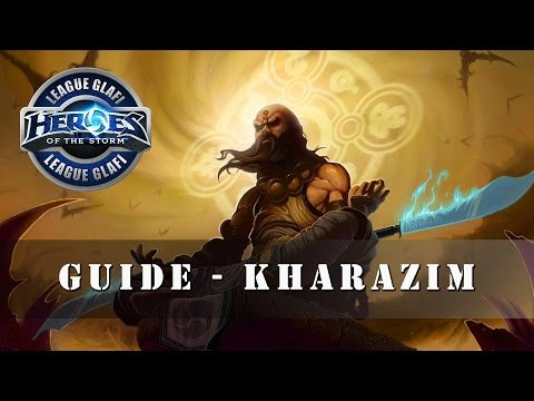 видео: Гайд Каразим - heroes of the storm - guide kharazim