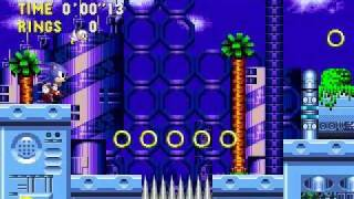 Sonic the Hedgehog CD - walkthrough