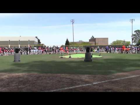 West Linn Youth Baseball Opening Ceremonies 2016