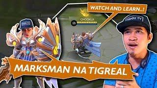Lightborn Defender na Tigreal, Subrang Lakas Mag MM