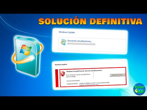 Solución al fallo de Windows Update buscando actualizaciones Infinitamente en Windows 7