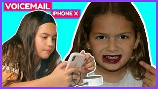 SETTING UP MY IPHONE X VOICEMAIL 📲📞☎️#89