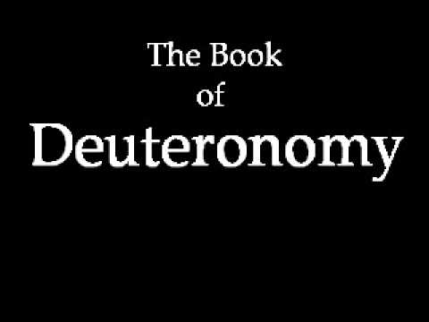 ​Deuteronomy Study Guide