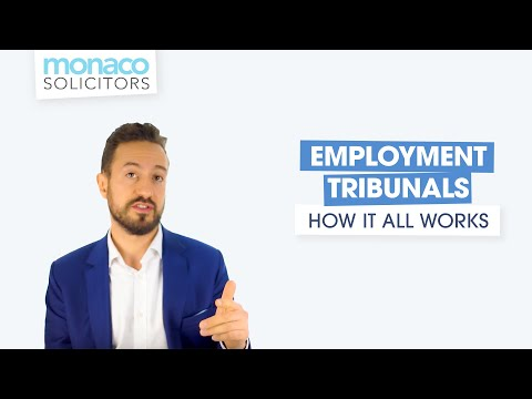 Employment Tribunals: How It Really Works With Employment Law