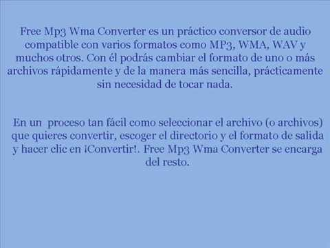 TUTORIAL FREE MP3 WMA CONVERTER V2 2