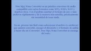 TUTORIAL FREE MP3 WMA CONVERTER V2 2