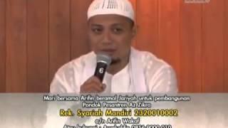 Ceramah Agama Yang Menyentuh Hati Ustad Arifin Ilham - Hidup Sukses Dengan 5 IS