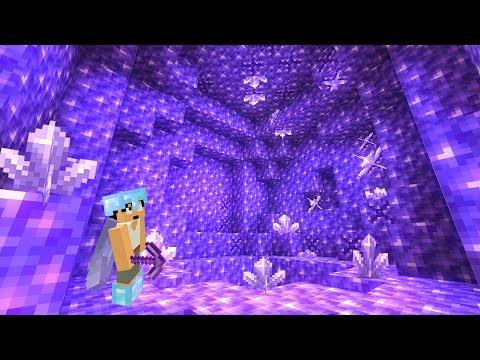 【超レア】洞窟のアメジスト部屋見つけましたPART159【マイクラ】
