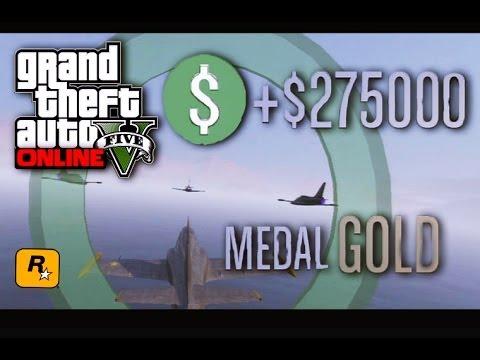"""GTA 5 Online All San Andreas Flight School Lessons Full Walkthrough Gameplay (All Medals """"Gold"""")"""