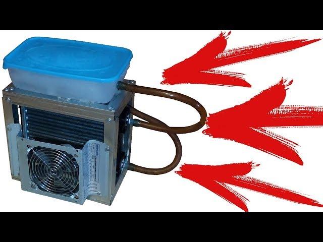 КАК СДЕЛАТЬ Охладитель воздуха работающий на воде или как бороться с жарой. Часть Первая