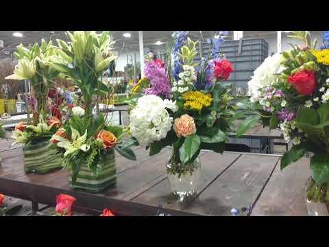 Floral designing with American School of flower design Michael Gaffney