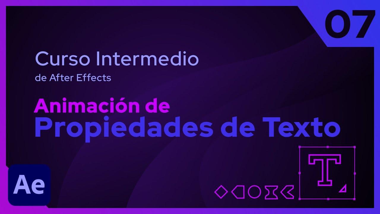 Animación de  Propiedades de Texto | After Effects - Tutorial
