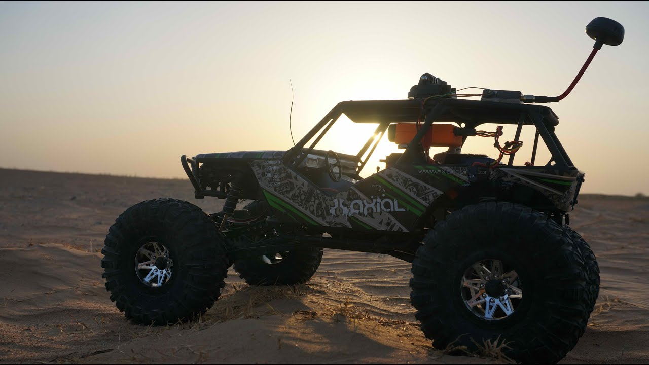 Axial Wraith Fpv Off Road Driving And Dune Bashing Youtube