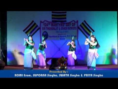 HADA SAMADON | New Manipuri dance 2017 | AT G.C College, Silchar |