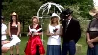 Redneck Wedding. cowboy and cowgirl