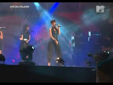 Rihanna - Take A Bow (Live) in Milan